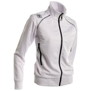 Bioracer Womens Victory Training Jacket (White)  69b18116d