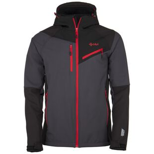 f24c5e89282 Mens Zenith Softshell Jacket (Dark Grey)