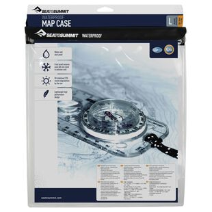 Sea to Summit Clear Waterproof Map Case Large