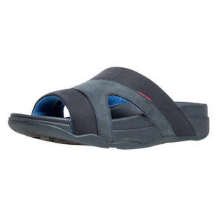 01232b2ac90 FitFlop Freeway III Leather Sandals (Navy)