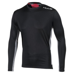 16d13e6fffb Mens Core Training Long Sleeve Top (Black)