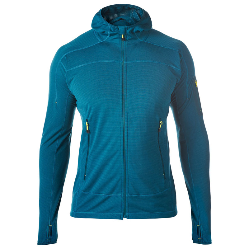 Berghaus Mens Pravitale Light Fleece Jacket (Dark Green ...