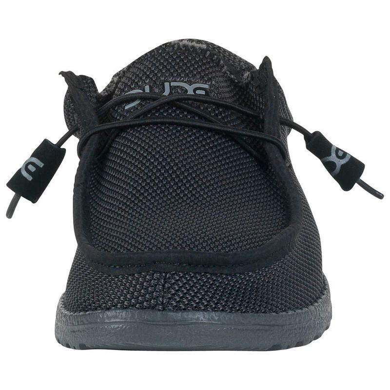 4293fe593dee Hey Dude Mens Wally Sox Shoes (Black)