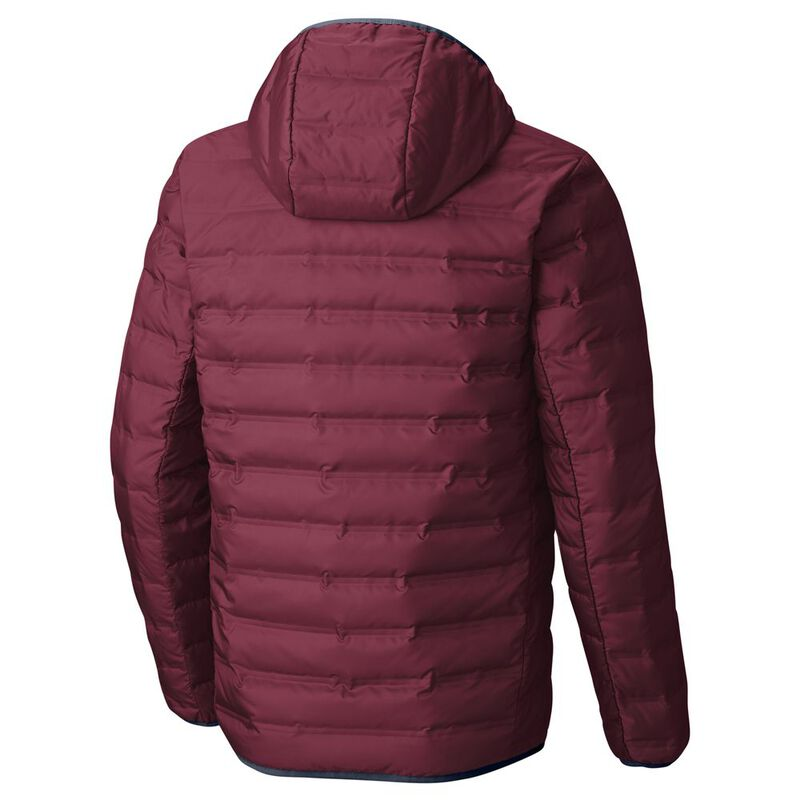de1d052b6 Columbia Mens Lake 22™ Hooded Down Jacket (Red Element ...
