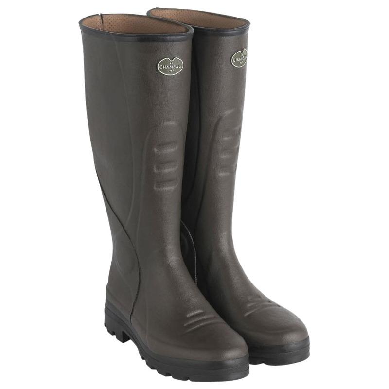cc04e861e2d Le Chameau Mens Traqueur Boots (Dark Brown) | Sportpursuit.com