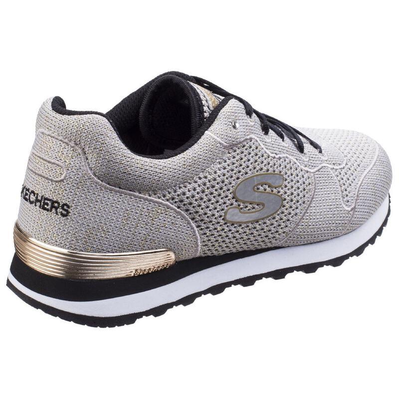 9175d394738b Skechers Womens Retro OG 85 Lower Flyer Shoes (Taupe Gold)