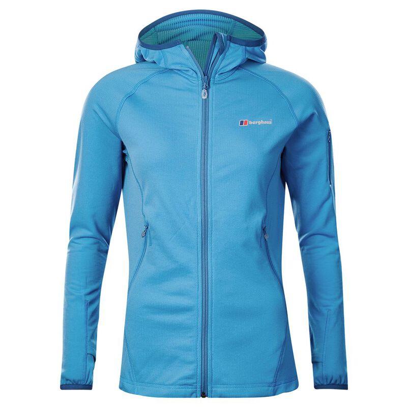 Berghaus Womens Pravitale Mountain Light 2.0 Hooded Fleece Jacket