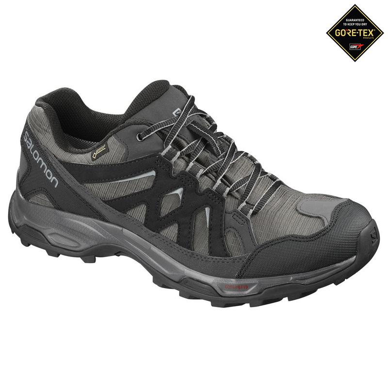 3d55db6b7d8f Salomon Mens Effect GTX Shoes (Magnet Black Monument)