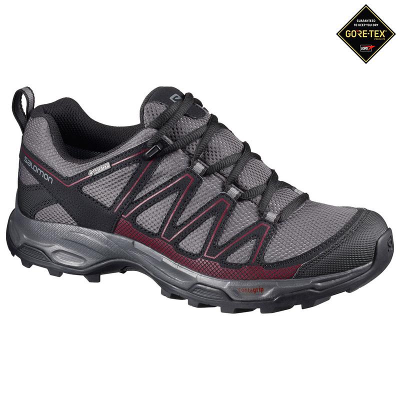 Salomon Womens Wentwood GTX Shoes (MagnetBlackTibet