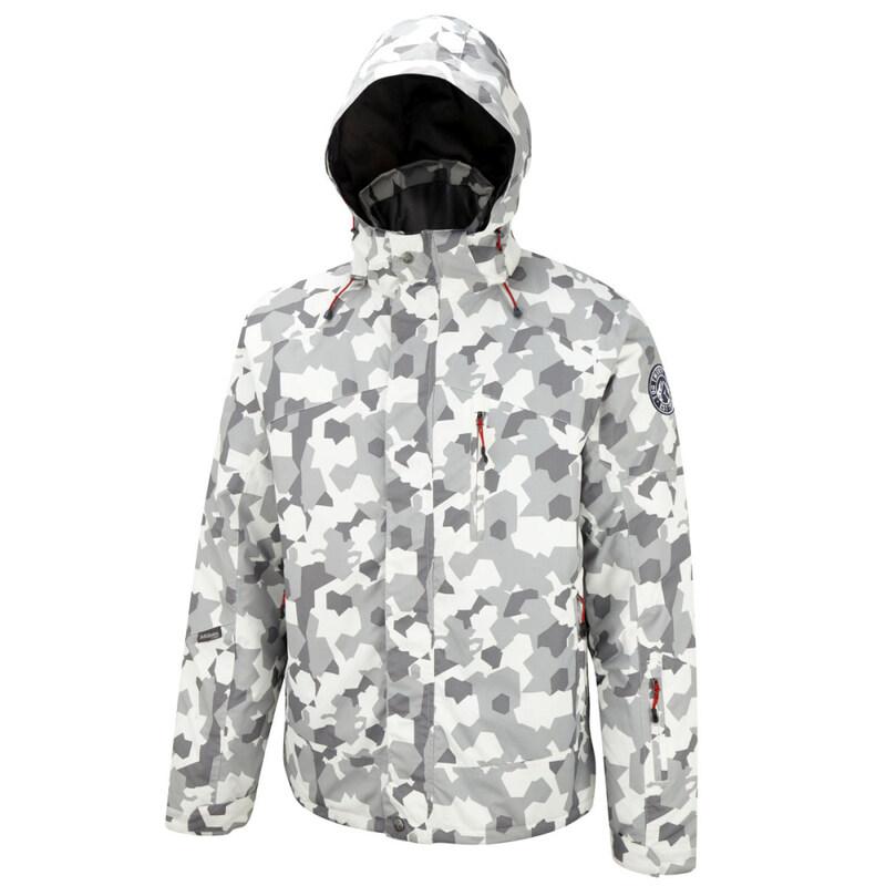 0d88603893602 Tog 24 Mens COBRA Ski Jacket (Camo White)   Sportpursuit.com