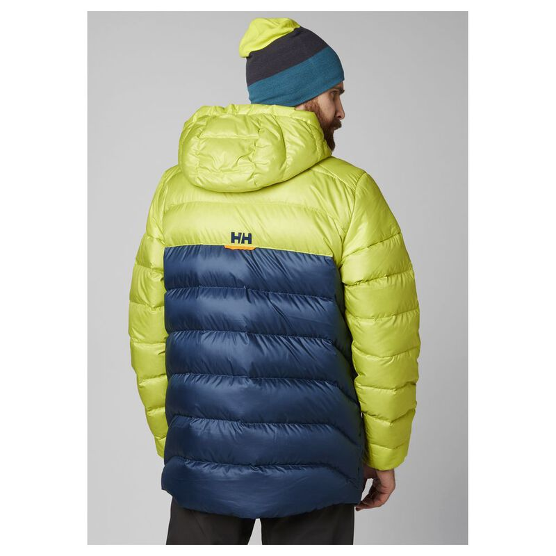 Helly Hansen Mens Vanir Glacier Down Jacket (Sweet Lime