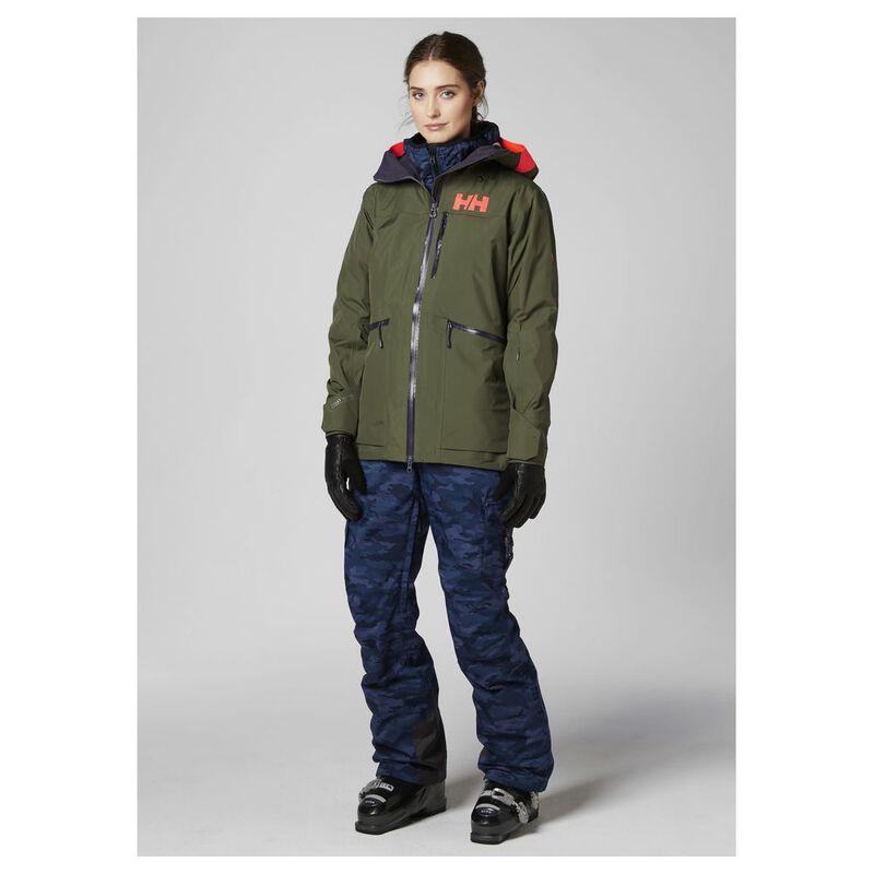 Tarkista koko perheelle erinomainen laatu Helly Hansen Womens Kvitegga Shell Ski Jacket (Ivy Green ...