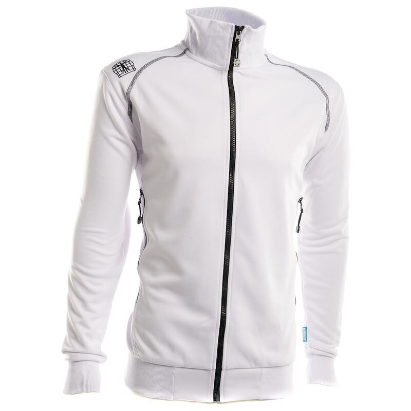 Bioracer Mens Victory Training Jacket (White)  2e90d8ded