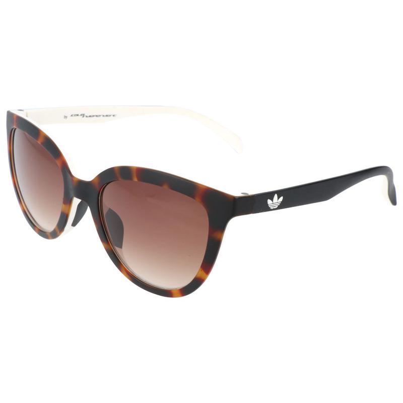 32a1fbbd57 Adidas Womens AOR006 Sunglasses (Havana Brown White ...