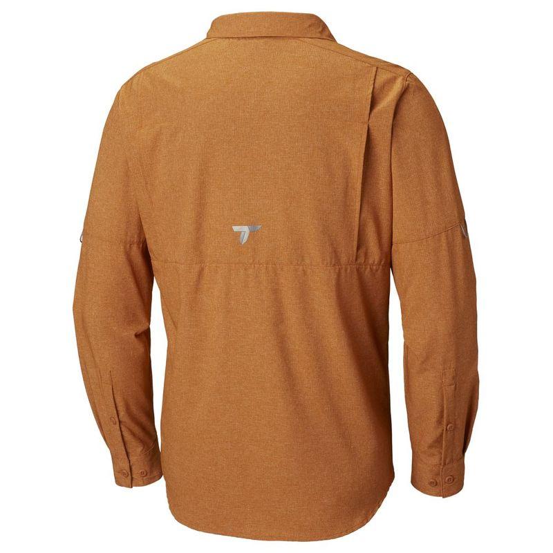 65803d992ef Columbia Mens Irico Long Sleeve Shirt (Desert Sun Heather) | Sportpurs