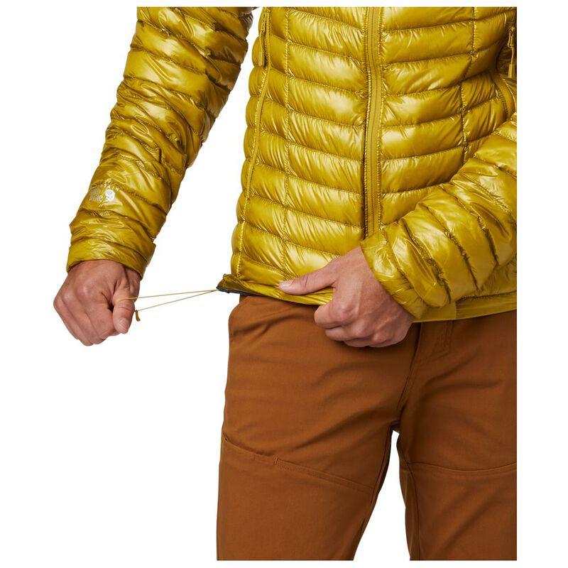 9662da64c6d Mountain Hardwear Mens Ghost Whisperer Down Jacket (Dark Citron) | Spo