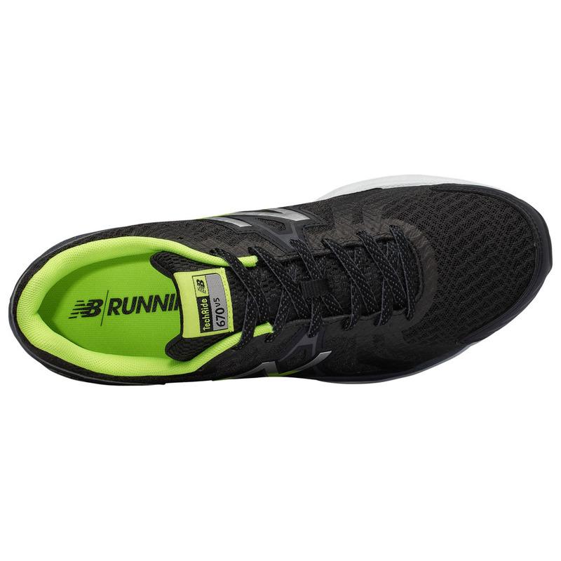 timeless design 4d44b de0d1 New Balance Mens 670 v5 Shoes (Black/Grey)   Sportpursuit.com