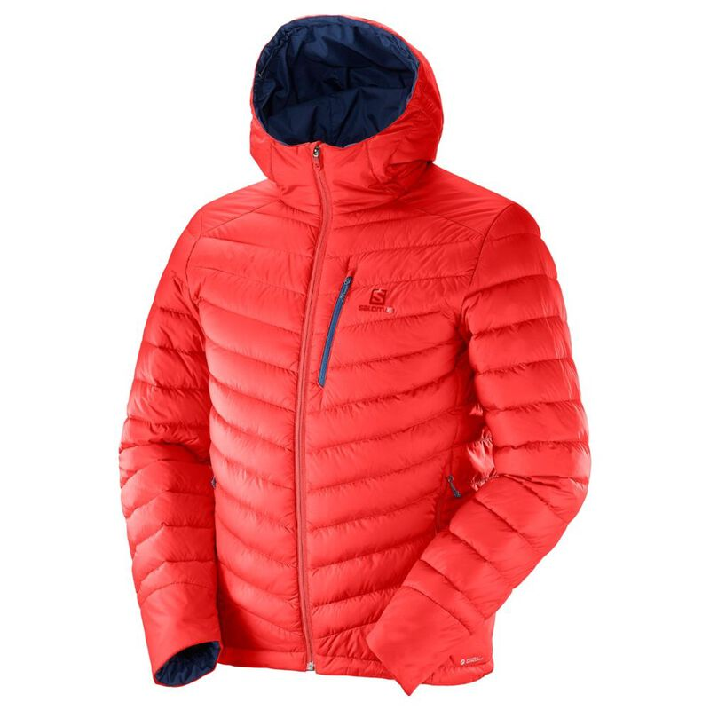 Salomon Mens Halo Down Hooded Jacket