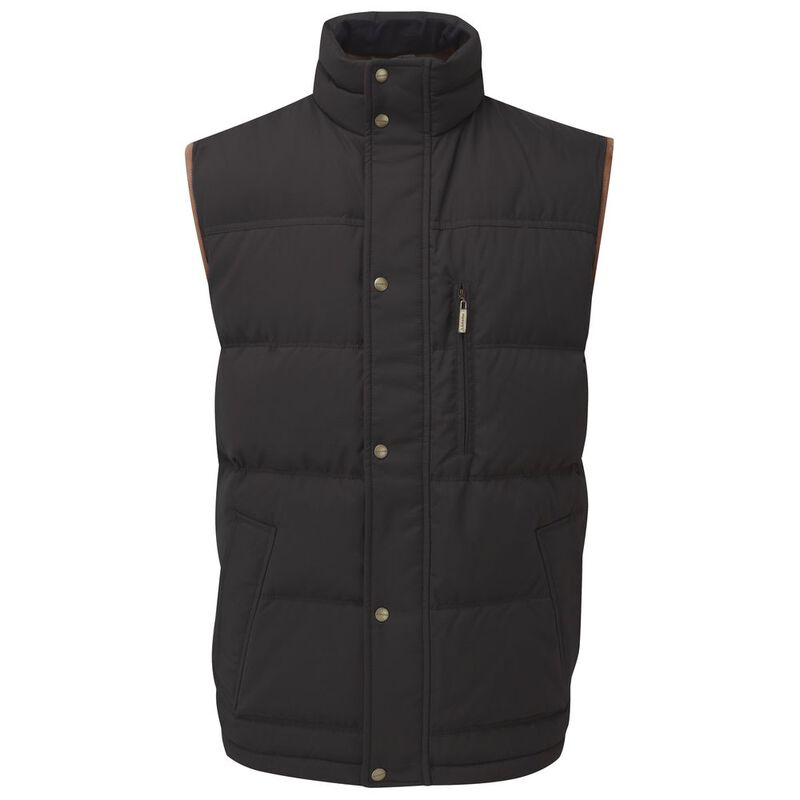 Schoffel Richmond Down Gilet Charcoal