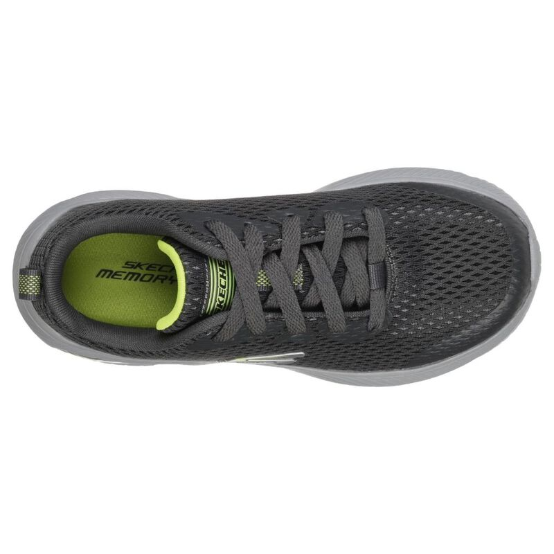 detailed look bc20a ba4fb Skechers Kids Dyna-Air Quick Pulse Shoes (Charcoal ...