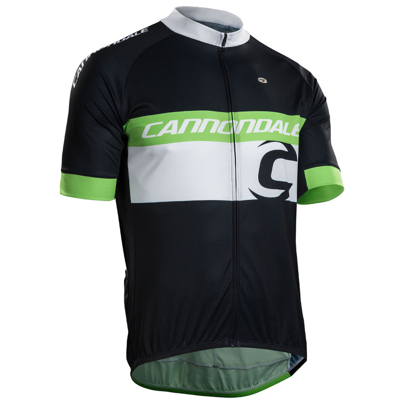 92a544ce5 Sugoi Mens Cannondale Evolution Zap Jersey (Black Green)