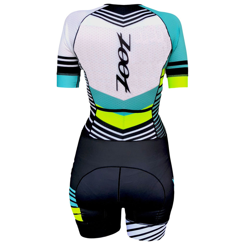 Zoot Womens Ltd Tri Aero Short Sleeve Race Suit (Team