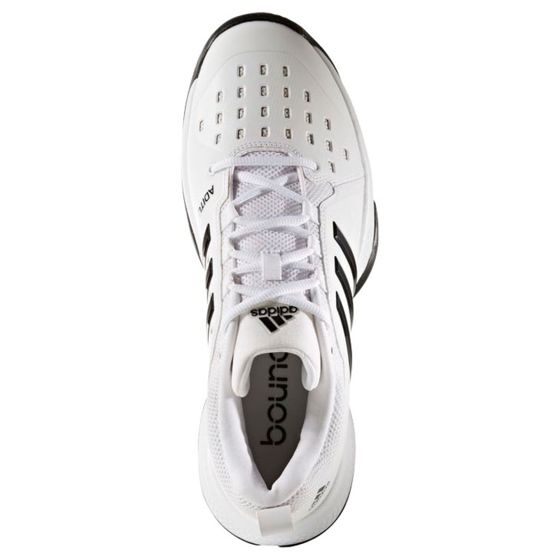 Adidas  mujer barricada classic zapatos bounce (blanco / plata) sportpur