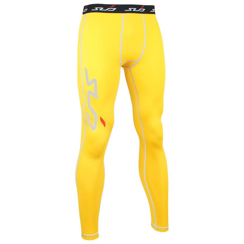Pants Sub Sports Dual Men/'s Compression Skin Baselayer Tights