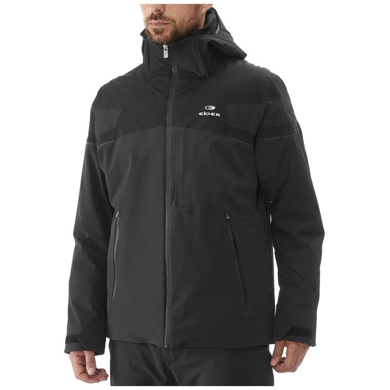 463e9abe82471 Eider Mens St Moritz Ski Jacket (Black)