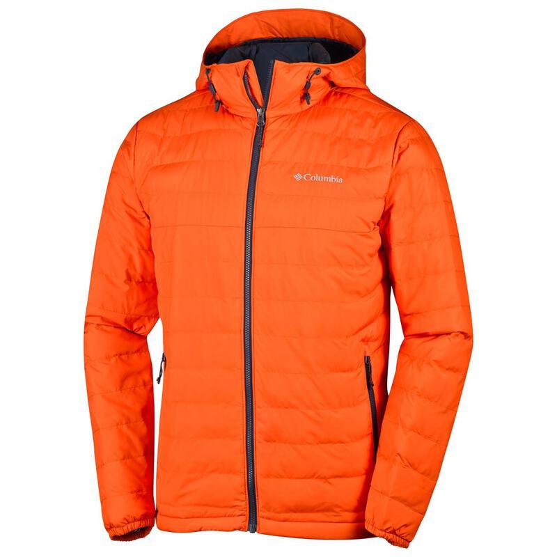 linda bajo costo gran descuento de 2019 Columbia Mens Powder Lite Hooded Jacket (Tangy Orange ...