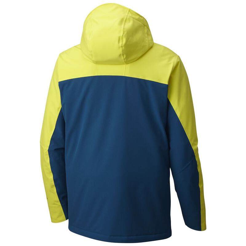 Columbia Mens Wild Card Jacket (Acid Yellow Phoenix Blue)  e15bee3c2