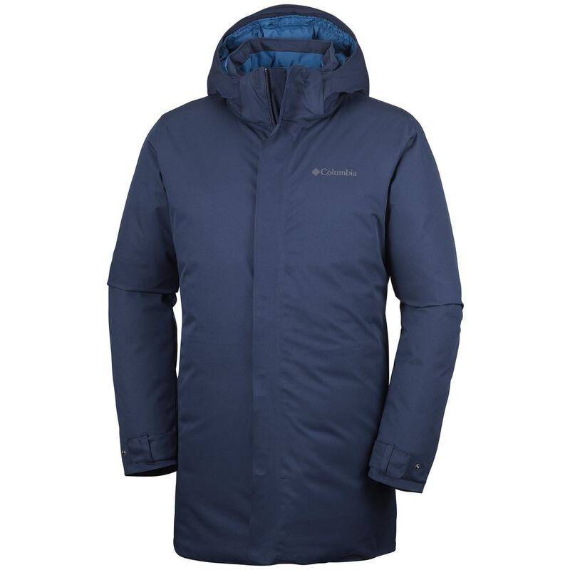 Columbia Mens Blizzard Fighter Jacket (Collegiate Navy