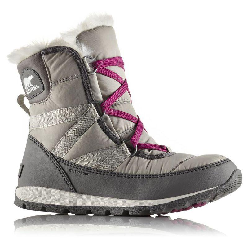 447177edf921b Sorel Womens Whitney Short Lace Boots (Quarry)