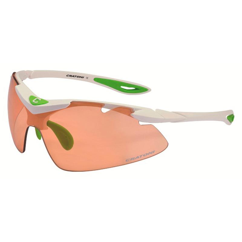 2204c893e97 Cratoni High Fly Sunglasses (White Matt)