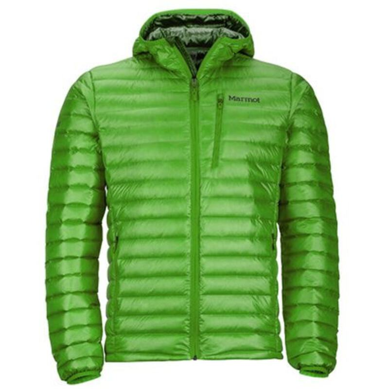 Marmot Mens Quasar Nova Hooded Jacket (Lucky Green ... bc4f1780bf4b