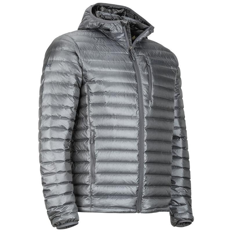 Marmot Mens Quasar Nova Hooded Jacket (Cinder)  31e9bf735150