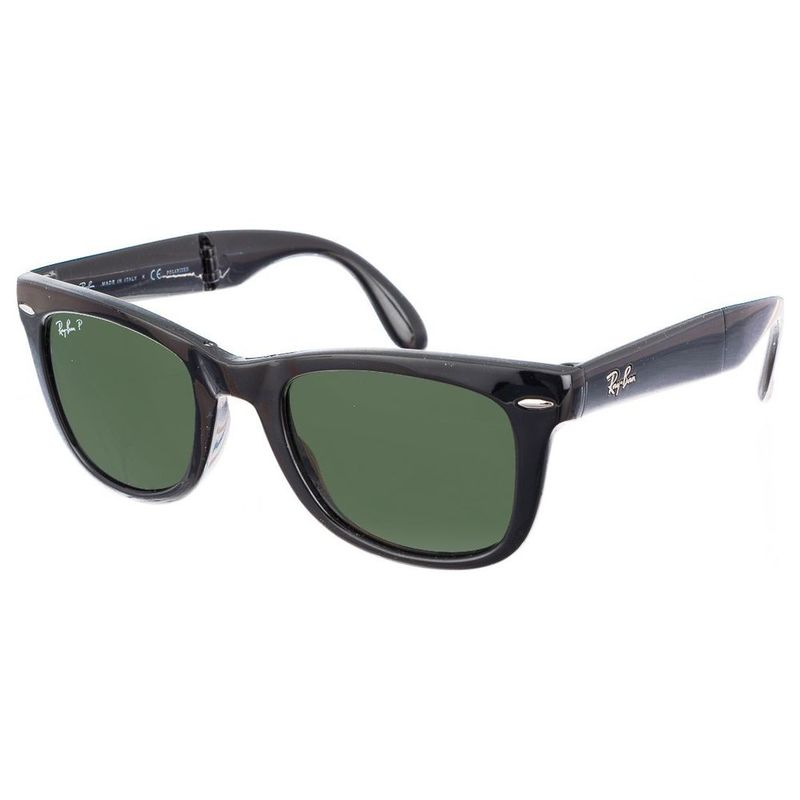 Ray-Ban Wayfarer Folding Polarized Sunglasses (Black)  8dbc2b2e1c9d