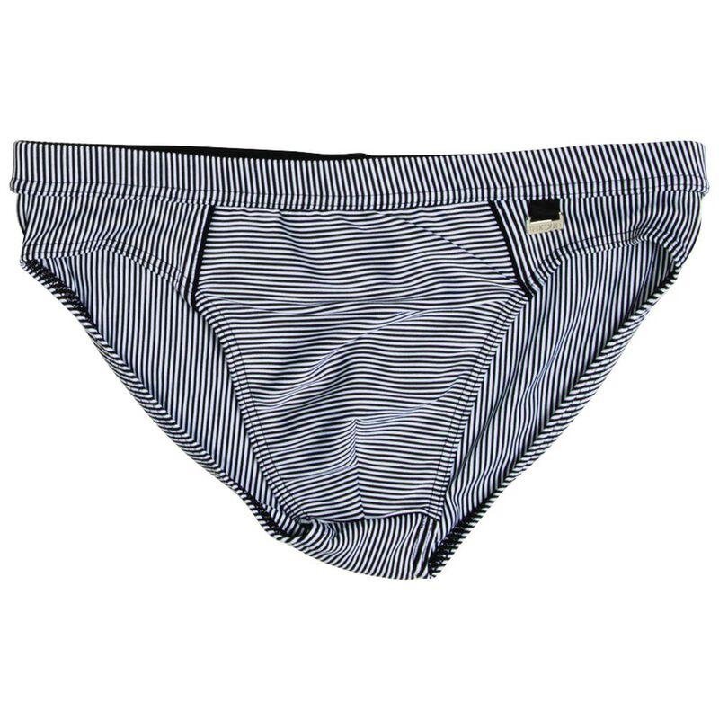 5508a83fb9 HOM Mens Rhythm Mini Swim Briefs (Black/White) | Sportpursuit.com