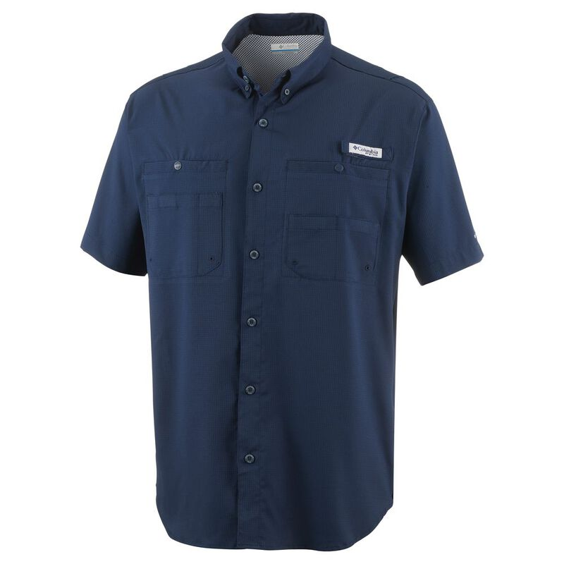7fdfbf19d Columbia Mens Tamiami II Short Sleeve Shirt (Collegiate Navy) | Sportp