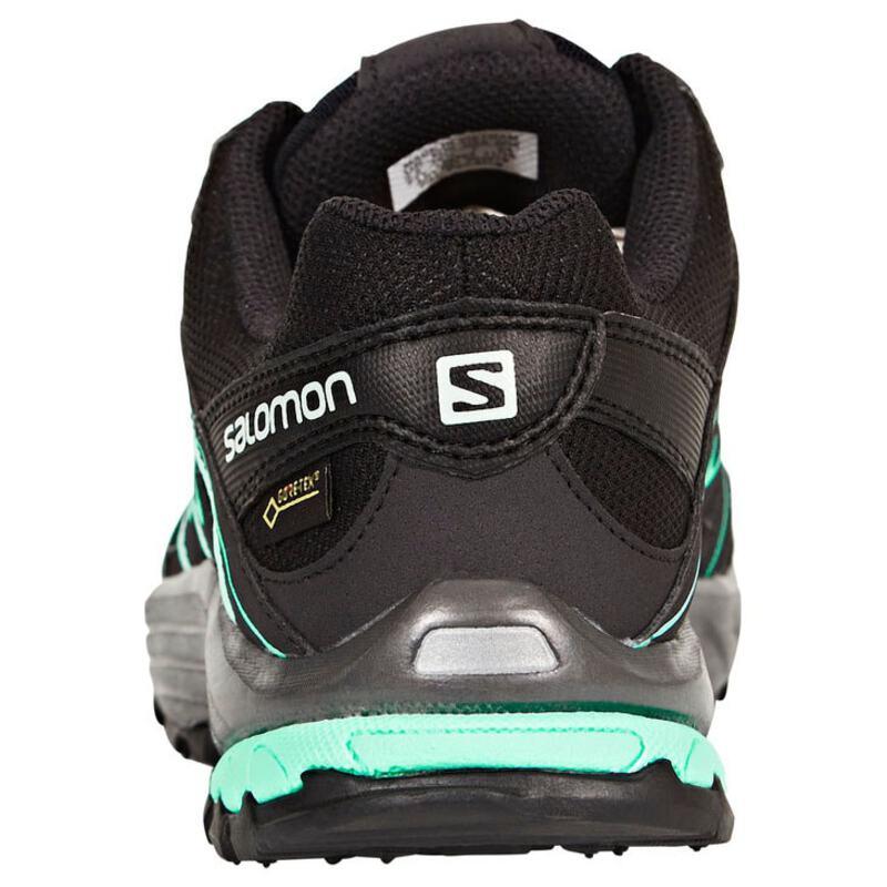Salomon Womens Kiliwa GTX Shoes (BlackPhantomAruba Blue