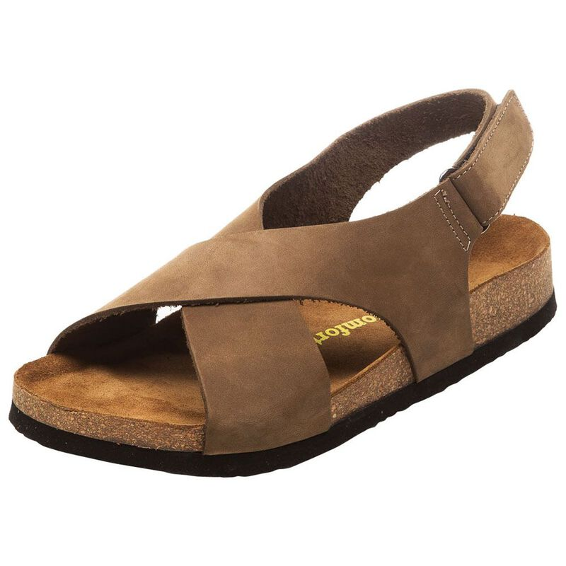 fac3cb06840 Comfortfusse Womens Fayette Sandals (Sand)