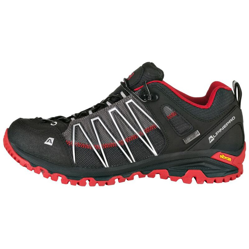 Alpine Pro Womens Triglav 3 PTX Hiking Shoes (Black)  7a960cfbcc9