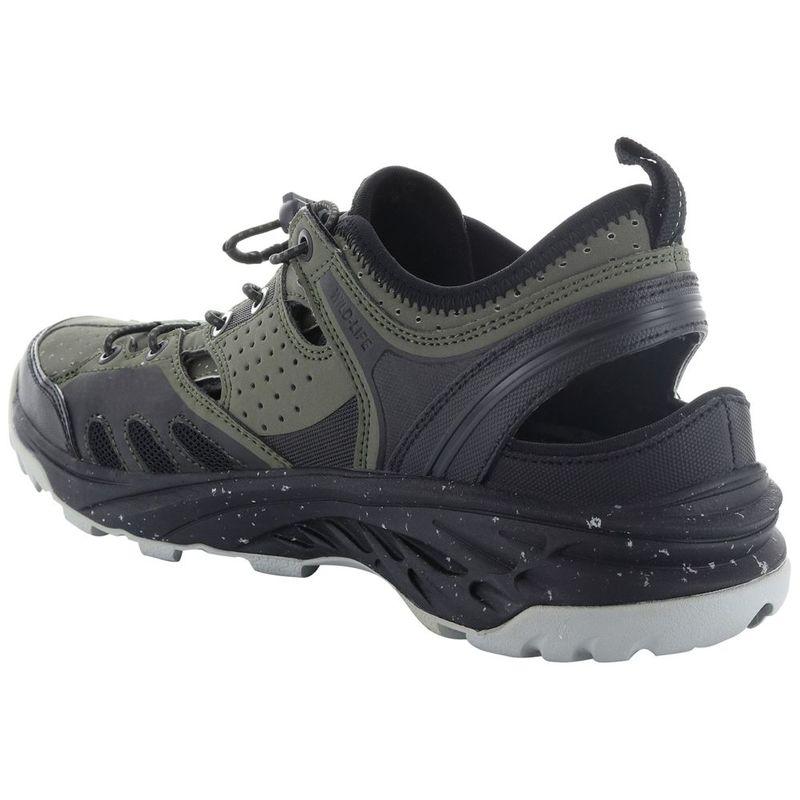 c1e11cade41a Hi-Tec Mens V-Lite Wild-Life Cayman Sandals (Olive Night Black)