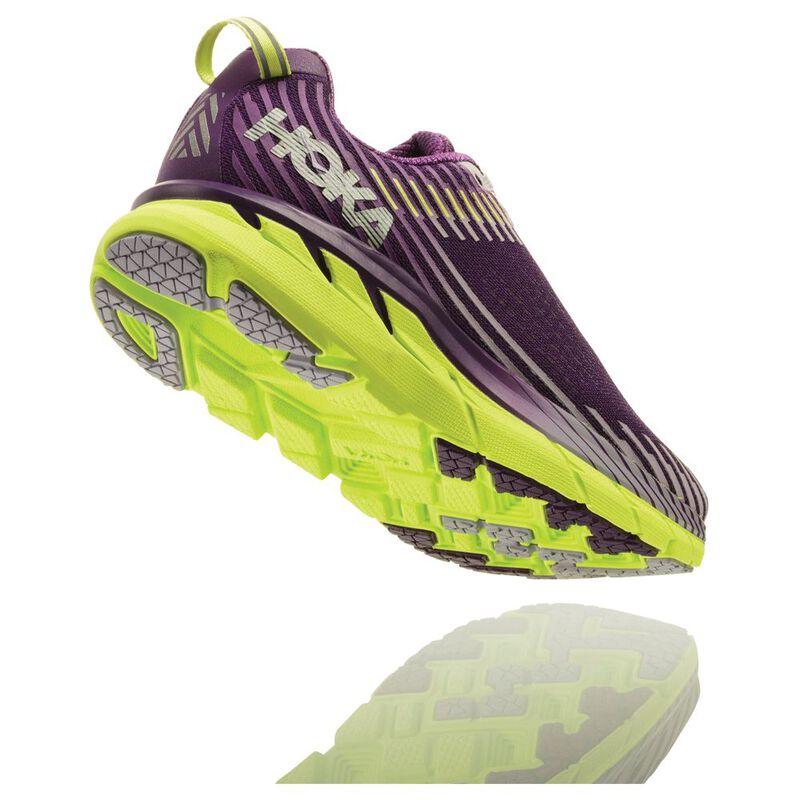 Hoka One One Womens Clifton 5 Shoes (Grape RoyaleLavender